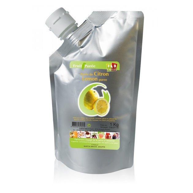 Puree de Citron Jaune Capfruit 1kg