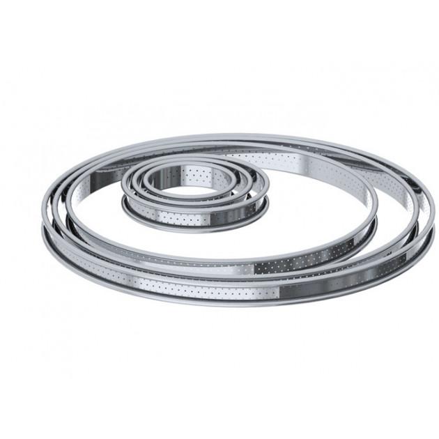Cercle perfore en Inox par De Buyer