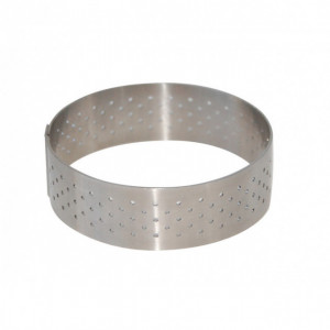 Cercle perforé Ø 7.5 cm de L'école Valrhona par De Buyer