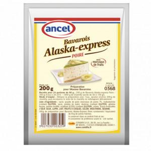 Préparation Mousse bavaroise Poire 200g Alaska-Express Ancel