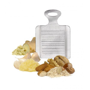 Râpe grattoir fruits secs, racines