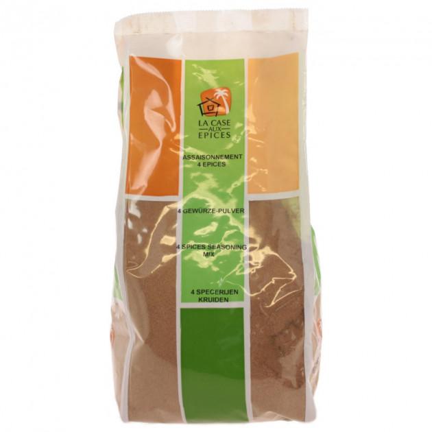 Melange 4 epices (cannelle. girofle. poivre gris. muscade) 1kg
