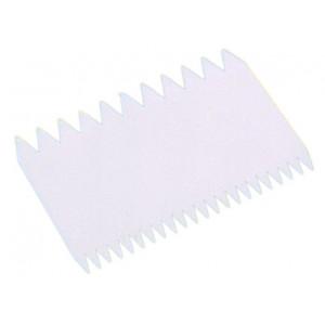 Peigne Rectangulaire en Plastique pour Décoration