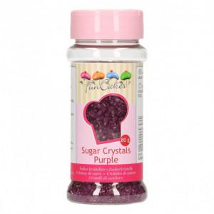 Sucre coloré Violet 80g Funcakes