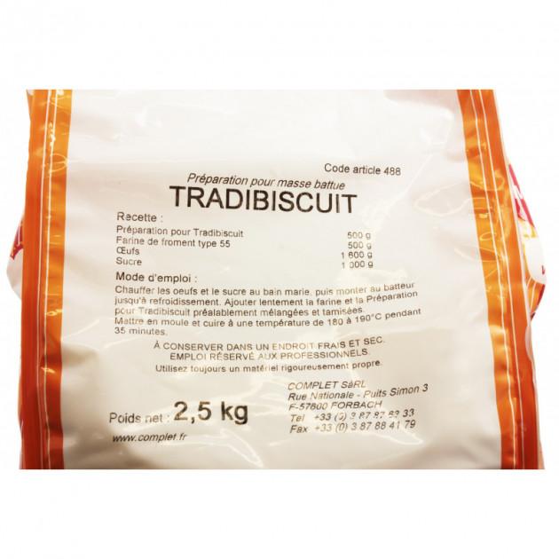 Preparation pour biscuits traditionnelles TRADIBISCUIT 2.5Kg vue3
