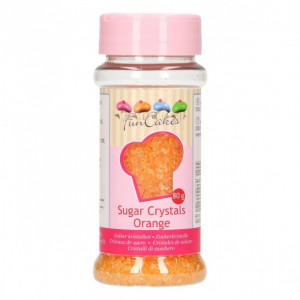 Sucre coloré Orange 80g Funcakes