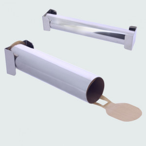 Moule Tubulaire à embouts démontables en inox 30 cm De Buyer