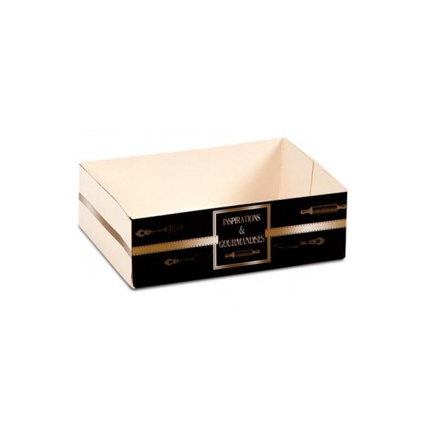 Caissette patissiere Inspirations -20 x 12 x H 5 cm- (x100)
