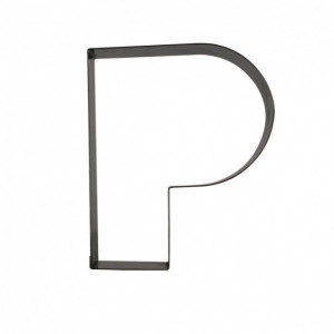 Lettre inox P Moule-Découpoir Gobel