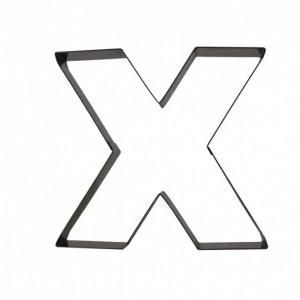Lettre inox X Moule-Découpoir Gobel