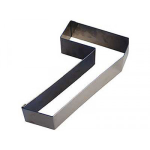 Chiffre inox 7 Moule-Découpoir 100 mm Gobel