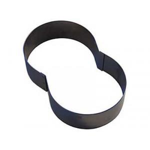 Chiffre inox 8 Moule-Découpoir 100 mm Gobel