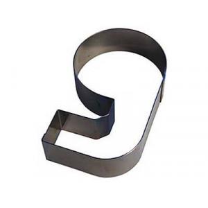 Chiffre inox 9 Moule-Découpoir 100 mm Gobel