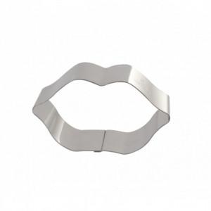 FIN DE SERIE Bouche Inox Moule - Découpoir Gobel 90 x 50 x H 30mm