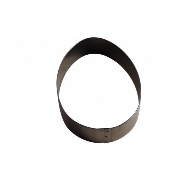 Cercle Oeuf de Paques Inox 8 x 5.6 cm x H 3 cm Gobel