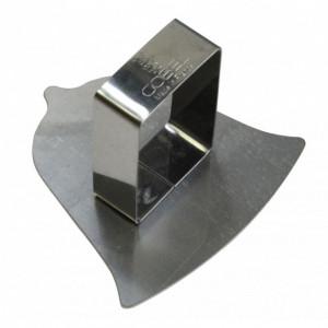 Poussoir Cloche inox 78 x 78 mm - Gobel