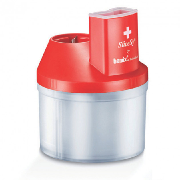 SliceSy rouge compris dans la Bamix box