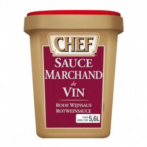 Sauce marchand de vin 5,6 L 850g