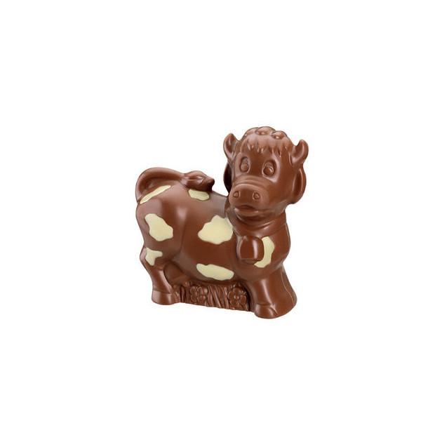 Moule Chocolat Vache. chocolat lait et blanc