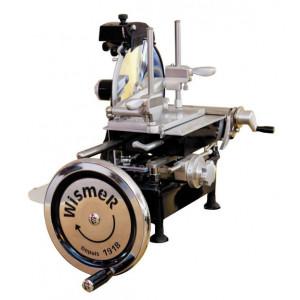 Trancheuse à Jambon Manuelle Rétro Noir 250 mm Wismer