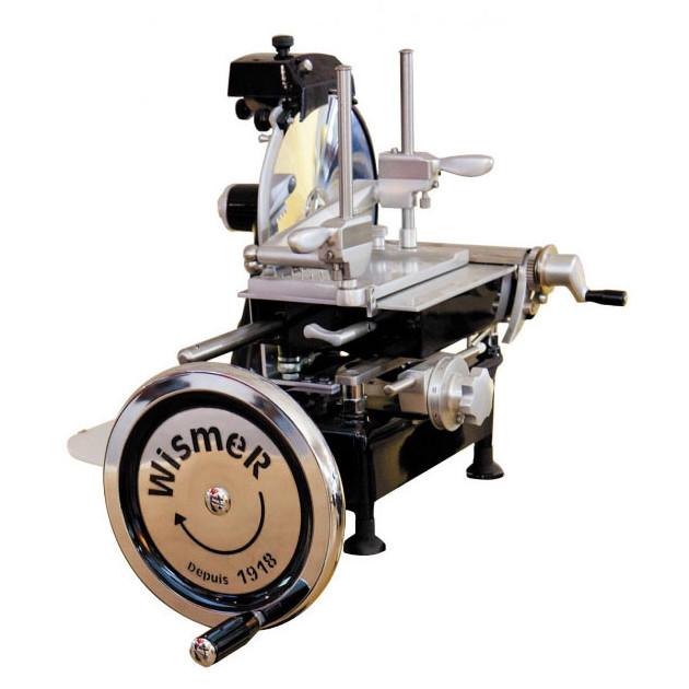 Trancheuse a Jambon Manuelle Retro Noir 250 mm Wismer
