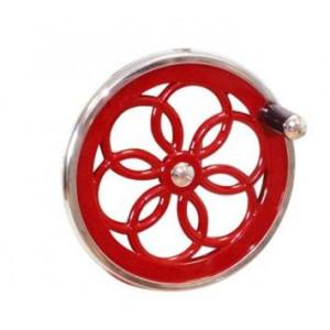 Volant à Fleur pour Trancheuse Jambon Manuelle Rétro 300 mm Rouge Wismer