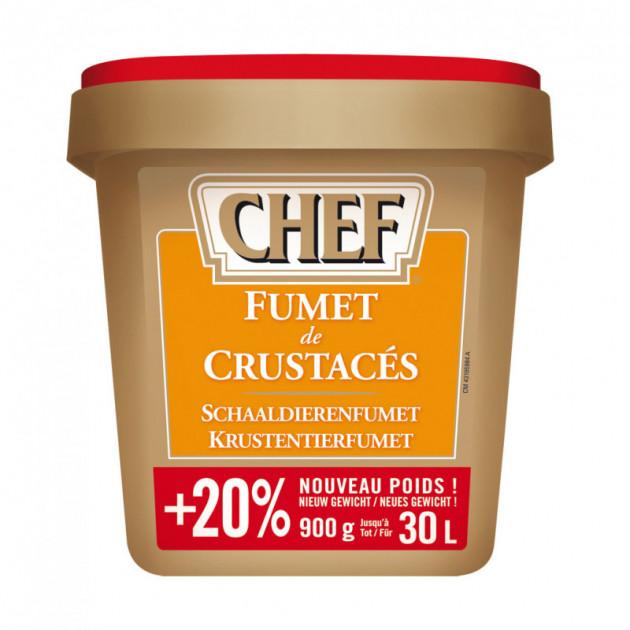Fumet de crustaces 30 L 900 g CHEF