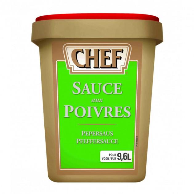 Sauce aux poivres 9.6 L 1080g CHEF
