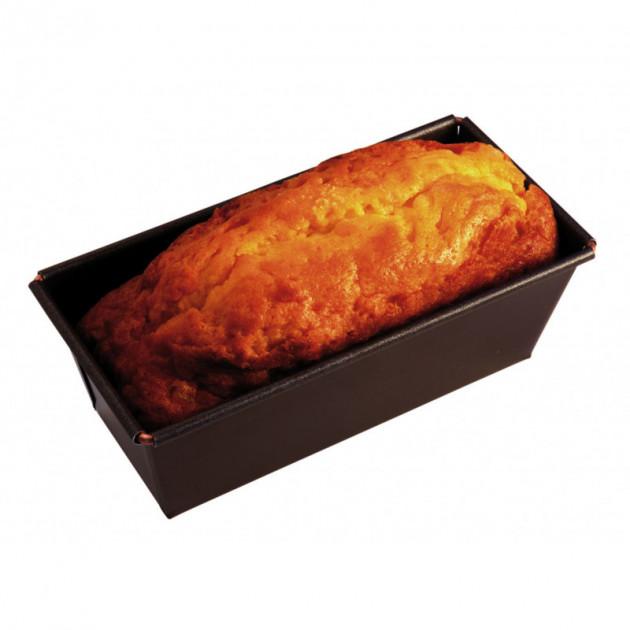 Moule à Cake Anti-adhésif 10 x 4,5 cm x H 3,5 cm Gobel