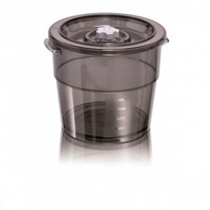 Bac Alimentaire Rond Polycarbonate 4 L