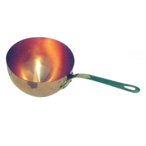 Poelon cuivre à Sabayon de 16 cm