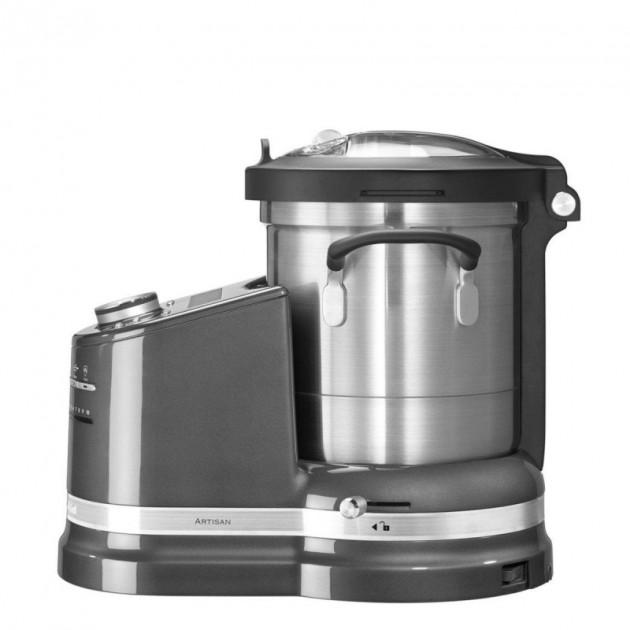 Robot multifonctions Cook Processor KitchenAid Gris Etain