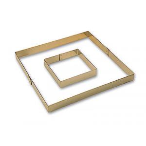 Cadre carré à entremets 33 x 33 cm