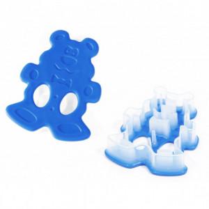 FIN DE SERIE Découpoir Ours Bleu 10,6 cm