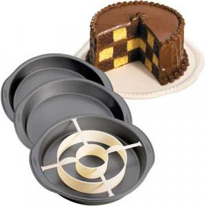 Moule pour gâteau Damier Wilton
