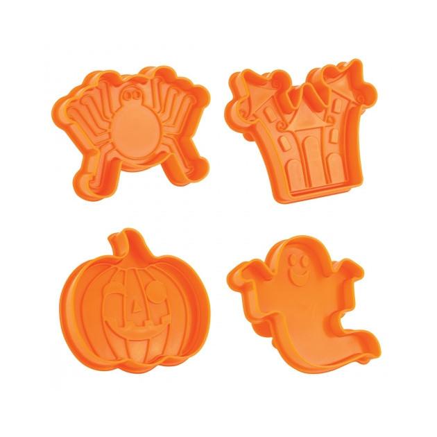 4 emporte-pieces dans le kit je fais mes Biscuits Halloween