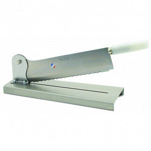 Couteau sur socle de 35 cm tout inox