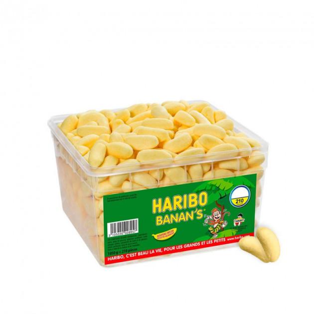 Banan's x 210 - Boîte Bonbon Haribo