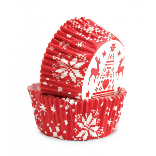 Caissettes Noel (x36) Scrapcooking