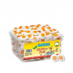 Oeufs au plat x 210 - Boîte Bonbon Haribo