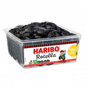 Rotella x 150 - Boîte Rouleau Réglisse Haribo