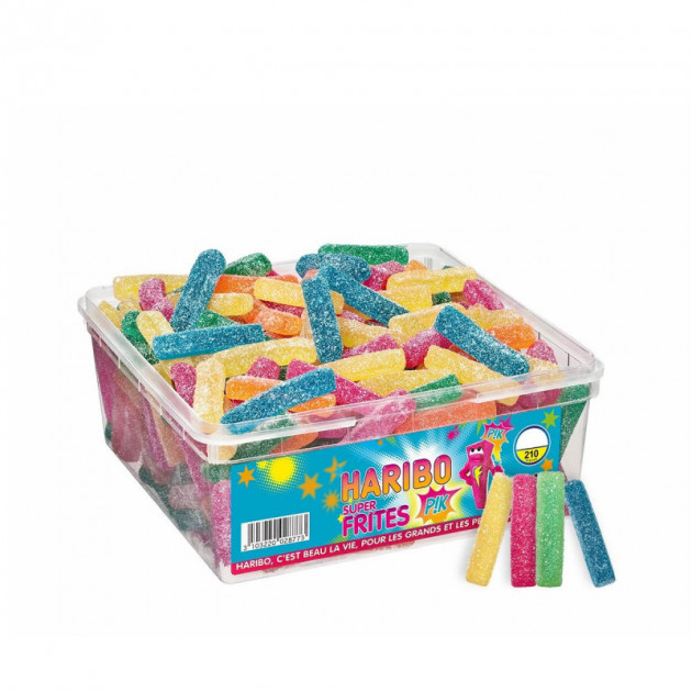 Super Frites Pik x 210 - Boîte Bonbon Haribo