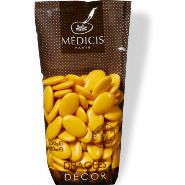 Dragees Jaune Safran Chocolat 250g MedicisDragees Chocolat Jaune Safran 250g Medicis