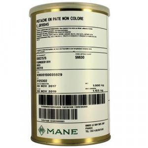 Pâte de Pistache non colorée 1 kg Mane