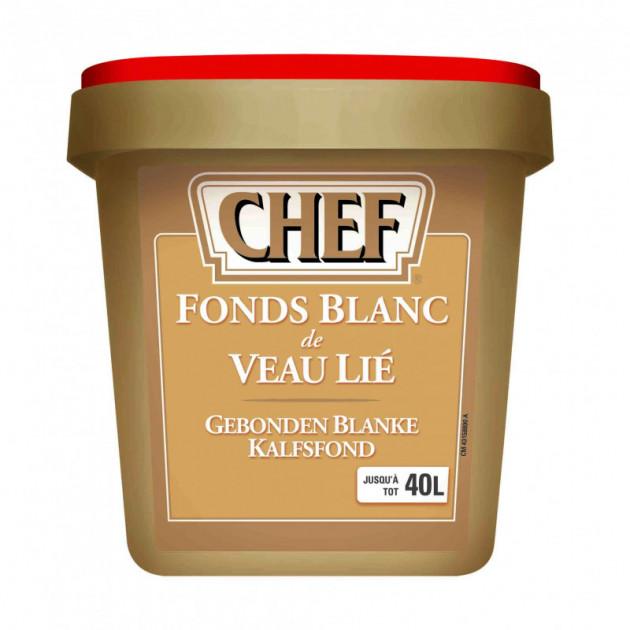 Fonds blanc de veau lie 40L 800g CHEF