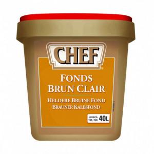 Fonds brun clair 40L 800g