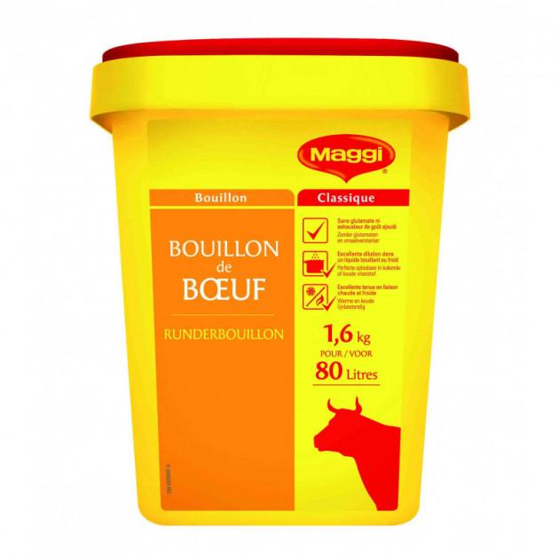 Bouillon de bœuf 80L 1600g Maggi