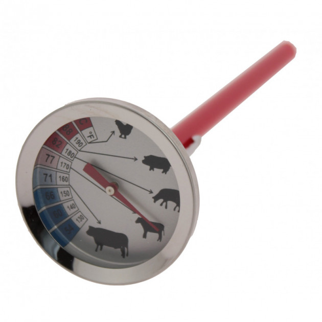 Thermometre Cuisson Viande a Sonde +54 °C a 88 degres celcius