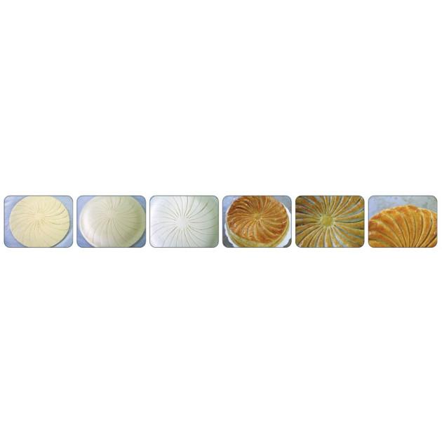 Mode d'emploi du decoupoir a galette motifs losanges en inox