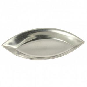 Moule Barquette Lisse Fer Blanc 9 cm (x12)